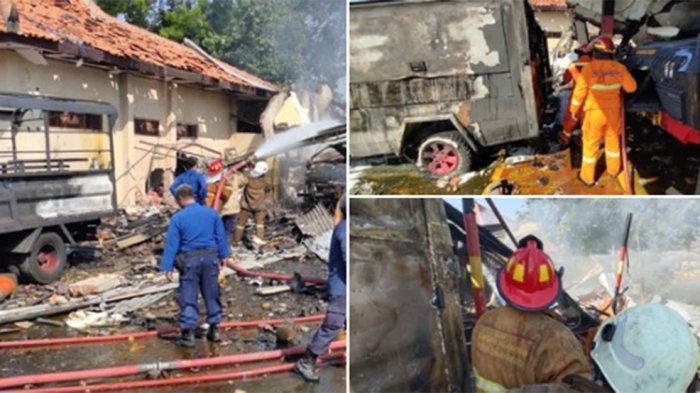Ledakan Granat dan Bom di Mako Brimob Srondol Buat Rumah Warga Sekitar Rusak
