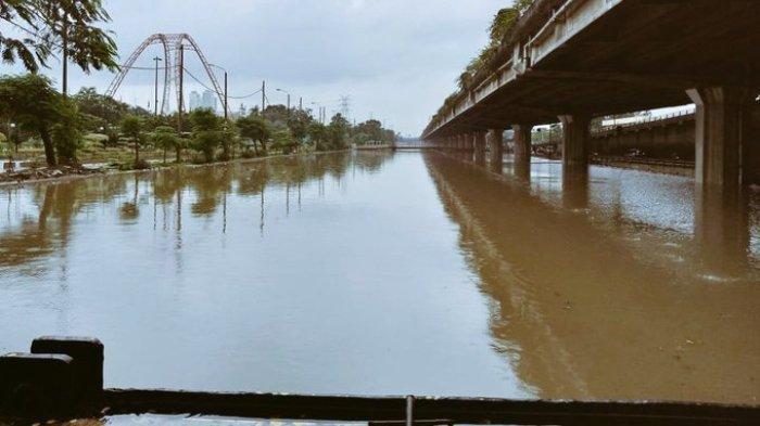 Ini Foto Info Banjir yang Viral Usai Diunggah Akun Twitter TMC Polda Metro Jaya, Sang Admin Ditegur