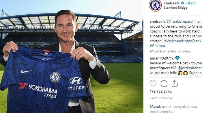Sederet Fakta Lampard Resmi Jadi Pelatih Chelsea: Legenda Kenyang Juara dan Jaminan Roman