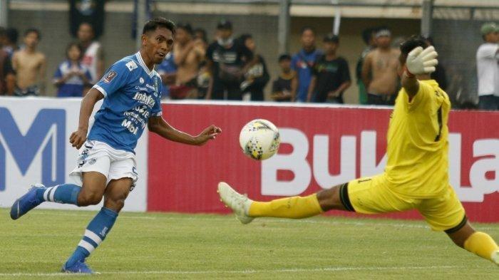 Hasil Piala Menpora - Persib Bandung Terselamatkan dari Kekalahan Berkat Gol Frets Butuan
