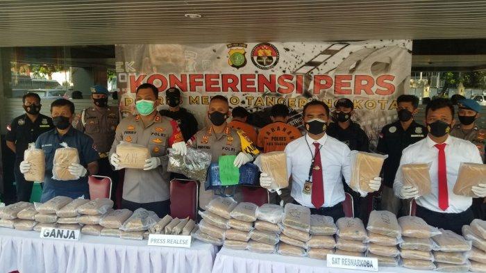 Dikirim dari Aceh Berkedok Makanan, Distribusi 64 Kg Ganja Digagalkan di Tanah Abang