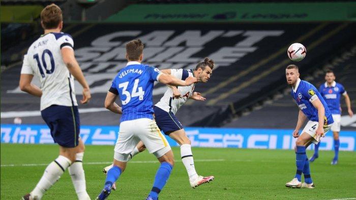 Hasil Liga Inggris - Tottenham Hotspur Kalahkan Crystal Palace Lewat Brace Bale dan Kane