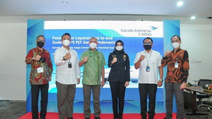 Garuda Indonesia Gandeng Perigi Logistics Luncurkan Fasilitas Warehouse Terintegrasi