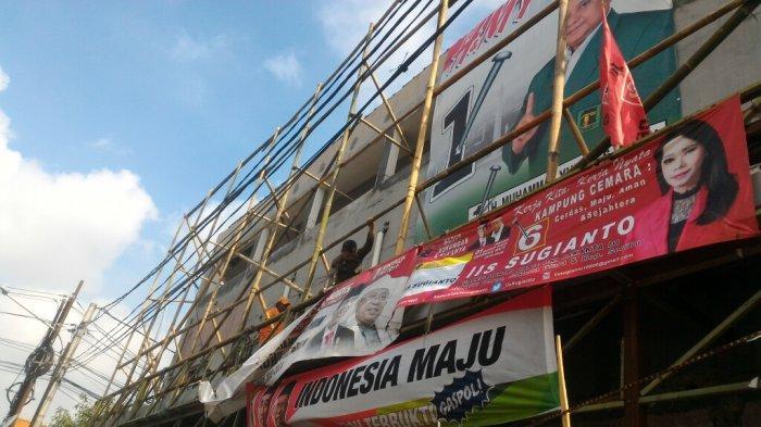 Sebuah Bangunan di Jalan Bugis Kebon Bawang Jadi Sarang APK, Sang Pemilik Minta Bantuan Satpol PP