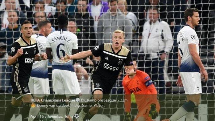 Hasil Liga Champions, Tottenham Hotspur Takluk 0-1 dari Ajax Amsterdam di Kandang Sendiri