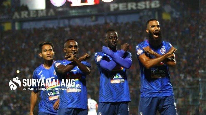 Prakiraan Line Up Big Match Arema FC Vs Persebaya Surabaya Sore Ini