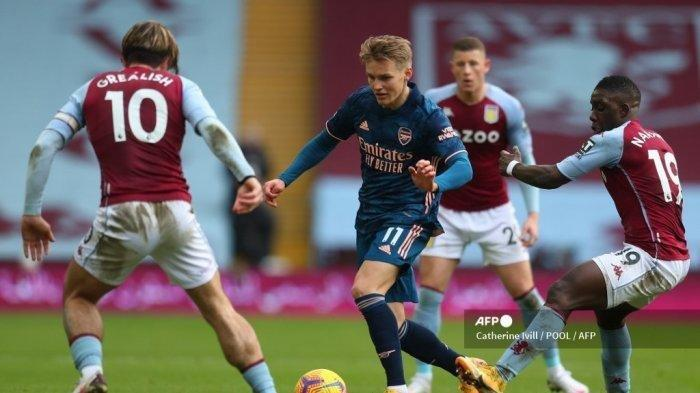 Liga Inggris: Tumbangkan Arsenal 1-0, Aston Villa Pertegas Dominasi 3 Pertemuan Terakhir