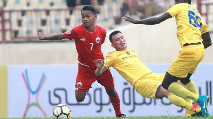 Newcastle Jets vs Persija Jakarta, Tandukan Ramdani Lestaluhu Robek Jala Lawan