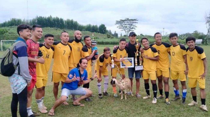 Juara Trofeo, Gelandang Persita Tangerang Ini Dapat Hadiah Kambing