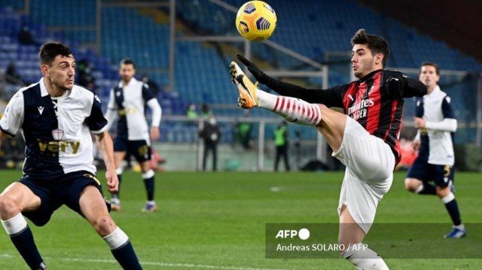 Simak Hasil dan Klasemen Liga Italia Serie A, AC Milan Kokoh di Puncak, Inter Milan Membuntuti