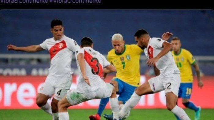 Hasil Copa America 2021: Brasil Melaju ke Babak Final Menunggu Pemenang Argentina vs Kolombia