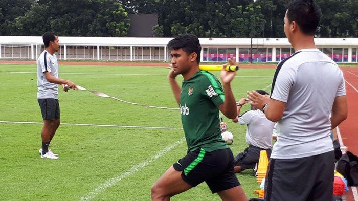 Alami Cedera, Gelandang Timnas U-23 Asnawi Mangkualam Jalani Latihan Terpisah