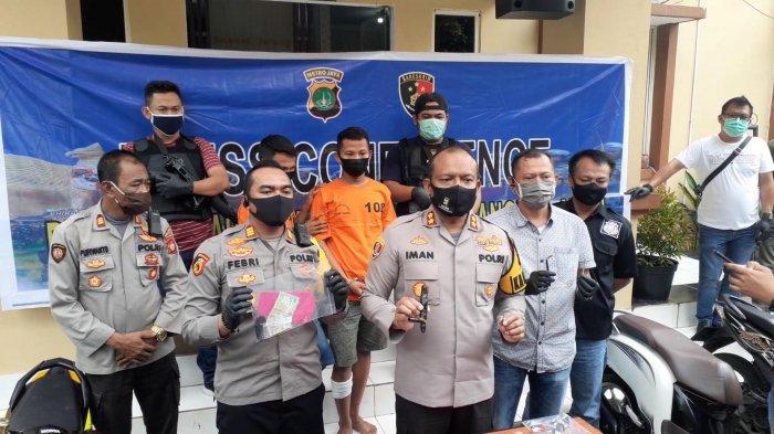 Nuri dan Kancil Spesialis Maling Motor Modus Ngontrak Rumah Tertangkap Polsek Kelapa Dua