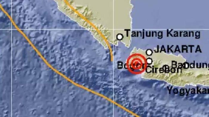 Gempa Bermagnitudo 5,4 Guncang Rangkas Bitung Banten, Terasa di Jakarta hingga Depok