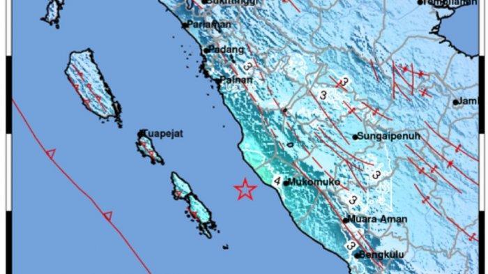 Masyarakat Mukomuko Rasakan Guncangan Kuat Saat Gempa M5,7 Terjadi