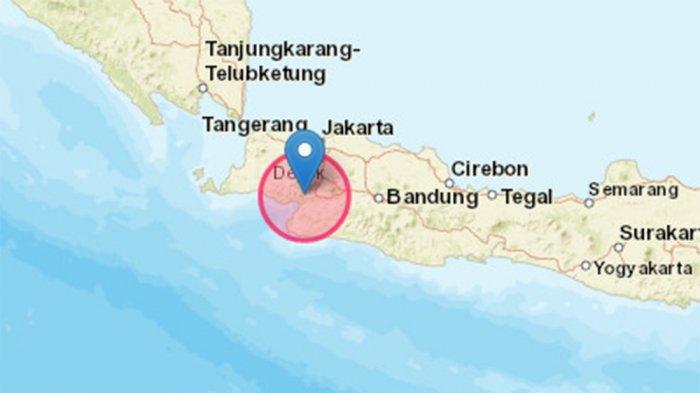 BREAKING NEWS Gempa Magnitudo 5.0 di Sukabumi Tak Berpotensi Tsunami