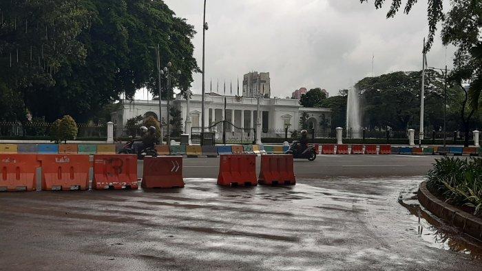 Tak Punya Izin Unjuk Rasa di Dekat Istana Negara, Polisi Angkut 8 Demonstran