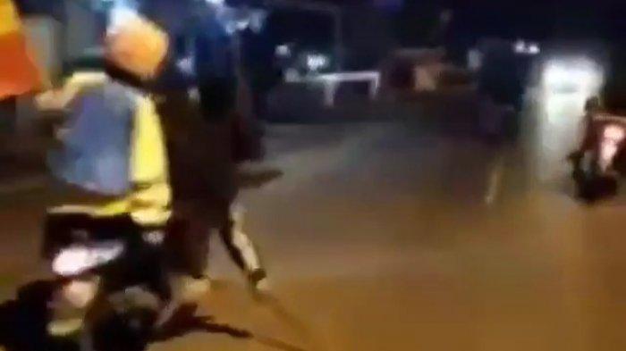 Viral Video Diduga Geng Motor Amerika Bawa Senjata Tajam Berkeliaran Lagi, Polisi: Sudah Lama Bubar