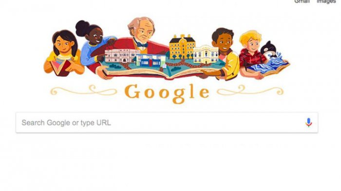 Google Doodle Hari Ini George Peabody Dermawan Kaya yang Sempat Jatuh Miskin, Kenapa?