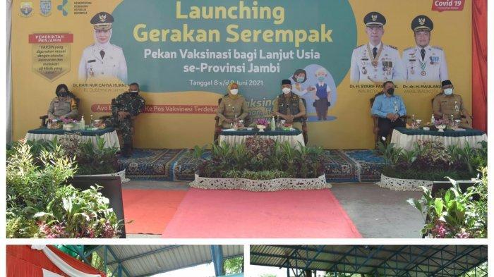 Pertama di Indonesia, Provinsi Jambi Gelar Gerakan Serempak Pekan Vaksinasi Lansia