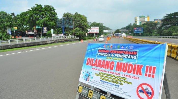 Baru Bayar di Pintu Keluar Tol Bogor, Kendaraan Berplat Nomor Luar Jabodetabek Dipaksa Putar Balik