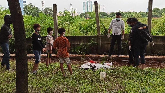 Mayat Bayi yang Ditemukan Pada Taman di Jalan Benyamin Sueb Diduga Dibuang 2 Hari Lalu