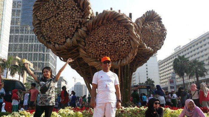 Setelah Instalasi Bambu Getah Getih, Anies Janji Pajang Karya Seniman Lokal