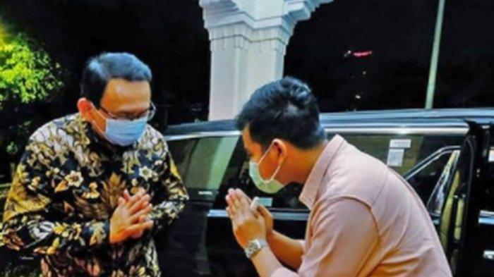 TERKUAK Obrolan Ahok Temui Gibran Rakabuming Malam-malam, Ungkit Sosok Kaesang: Bahas Politik?