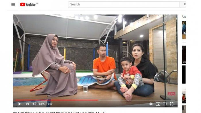 Nagita Slavina Nangis saat Raffi Ahmad Bahas Akan Nikah Lagi, Ria Ricis: Maaf Kak, Kita Cuma Prank