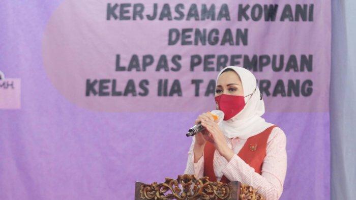 Kunjungi LPP Tangerang, Ketum Kowani Ingin Semua Warga Binaan Bisa Akses E-Library Perpusnas