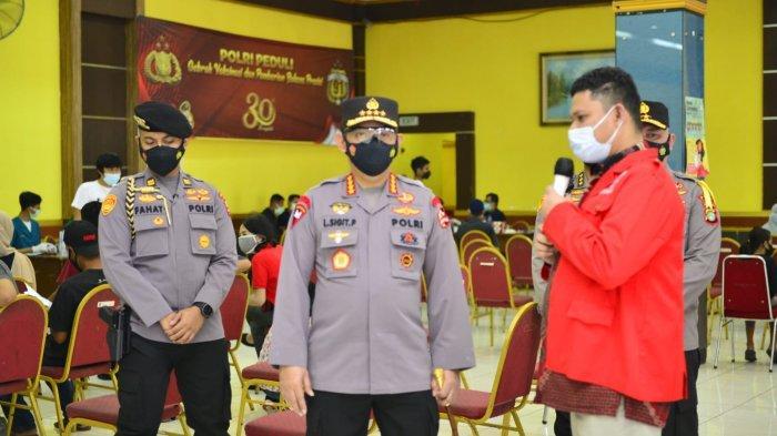 Vaksinasi GMNI-Polri di Jakarta Timur Capai 1.000 Dosis