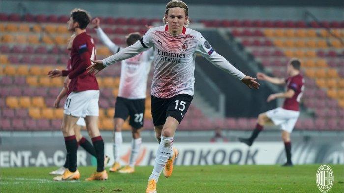 AC Milan Coret Jens Petter Hauge dari Skuat Liga Europa