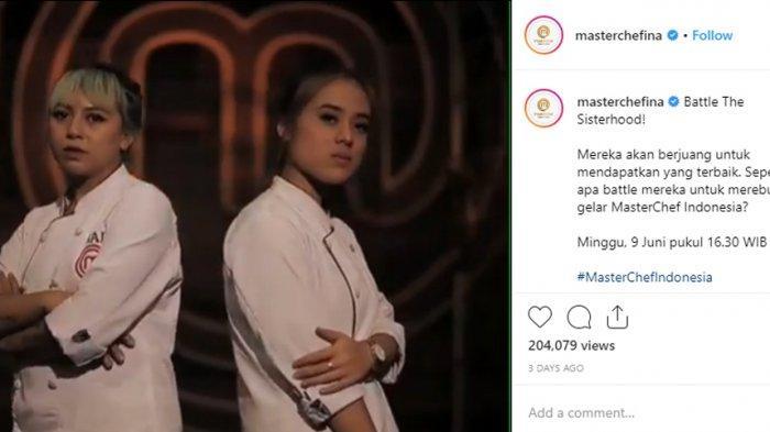 Fani dan Kai Berebut Gelar Juara di Grand Final MasterChef Season 5, Pemenangnya Bikin Penasaran