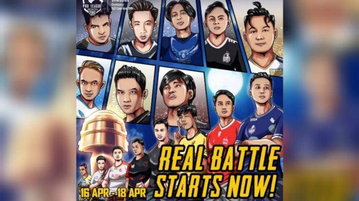 Berlangsung Live Streaming PUBG Mobile Pro League PMPL Indonesia Season 3, Berebut Raja Indonesia