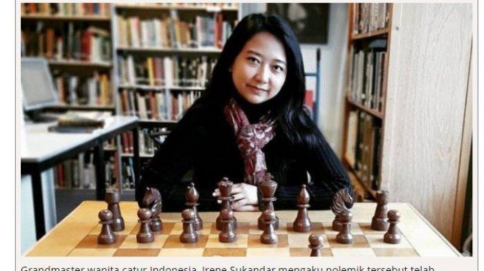 SEDANG BERLANGSUNG! Pertandingan Catur Grandmaster Irene Sukandar Vs Dewa Kipas, Saksikan Sekarang