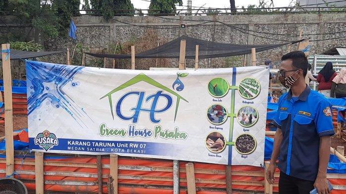 Menyulap Lahan Kosong Menjadi 'Green House Pusaka', Produksi Sayur Hingga Ternak Puyuh di Bekasi