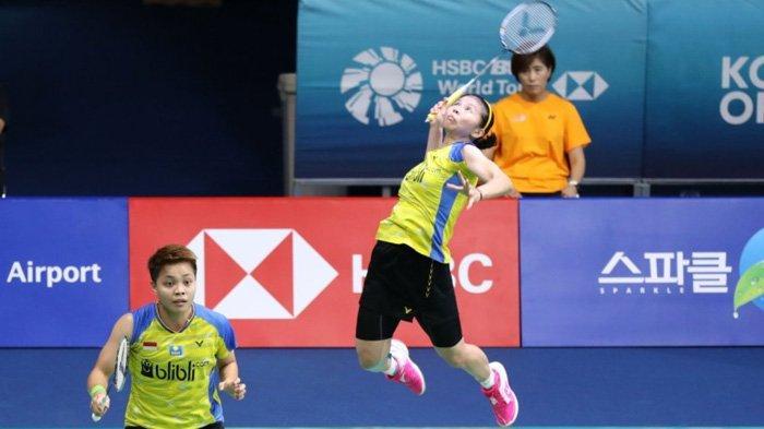 Indonesia Masters 2020: Greysia/Apriyani Kalahkan Wakil Korea, Indonesia Pastikan 2 Tempat di Final