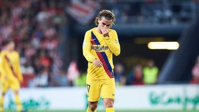 Antoine Griezmann Ikuti Langkah Lionel Messi Hengkang dari Barcelona