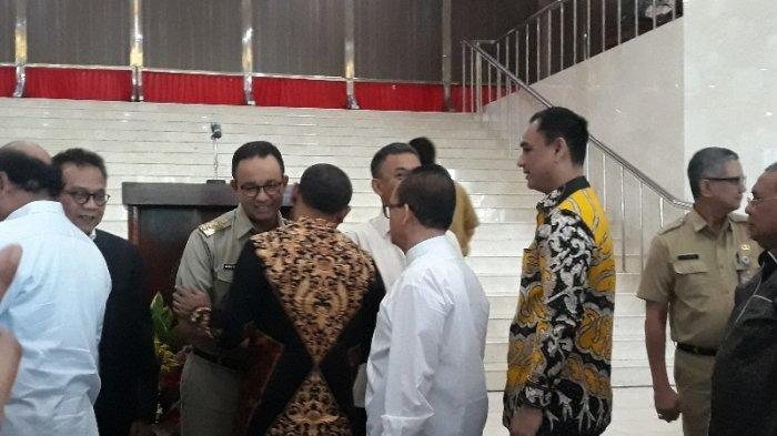DPRD DKI Gelar Halal Bihalal Bersama Eksekutif, Gubernur Anies: Silaturahmi Melenturkan yang Kaku