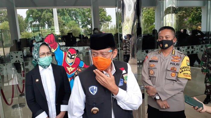 Terkait Coretan Provokatif di Musala Pasar Kemis, Gubernur Banten:Jangan Dibesar-besarkan