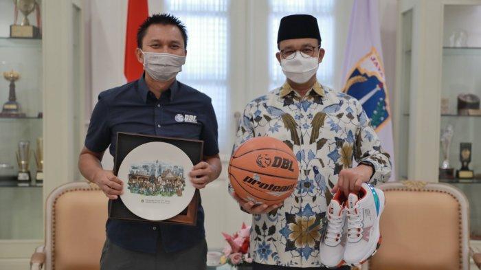 Gubernur Anies Baswedan Dukung Seri Pembuka Honda DBL di Jakarta dan Fasilitasi Vaksinasi Peserta