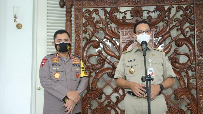 437 Kontak Erat Gubernur DKI Anies dan Ariza Jalani Swab Test, 24 Positif Covid-19