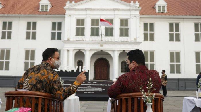 Pertemuan di Kota Tua Disorot Arief Poyuono: Anies-Erick Tinggal Hompimpah Saja Buat Pilpres 2024
