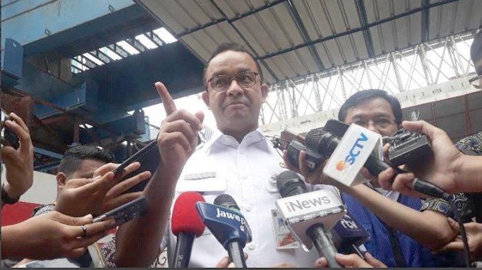 Anies Salahkan PT Adhi Karya Soal Genangan di Pancoran dan Cawang: Saya Beri Peringatan Keras