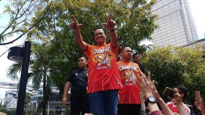 Launching Tim Persija Jakarta, Pesan Anies Buat Macan Kemayoran: Tetap Semangat, Tetap Ngotot