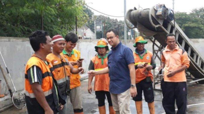 Anies Baswedan Sidak Rumah Pompa di Jakarta Utara: Ini Pesannya Kepada Petugas Jaga