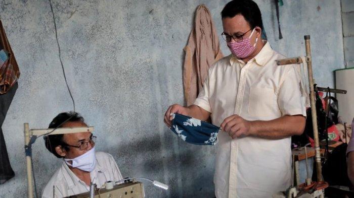 Pemprov DKI Jakarta Salurkan 4 Juta Masker Bagi Warga di 47 Kelurahan
