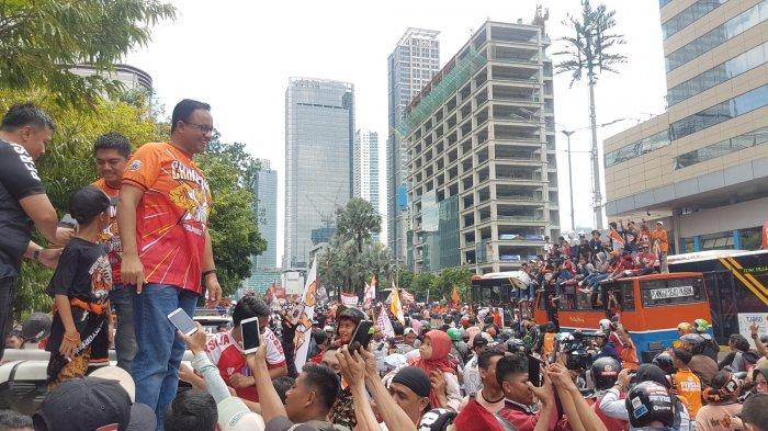 The Jakmania Ulang Tahun, Anies Baswedan Puji Kontribusi Nyata Suporter Setia Persija Jakarta