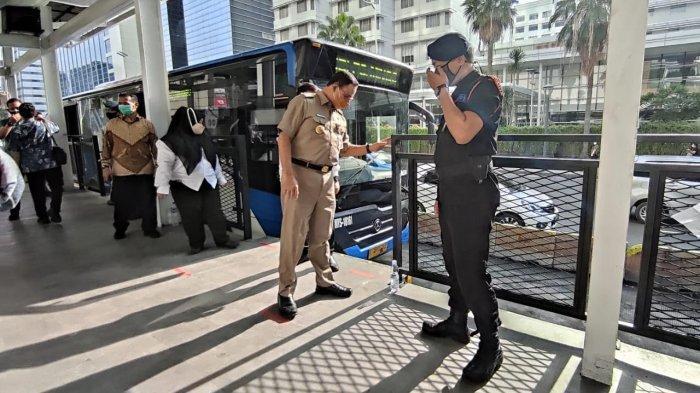 Unjuk Rasa Dekat Istana Negara, Operasional 4 Rute Transjakarta Dihentikan Sementara