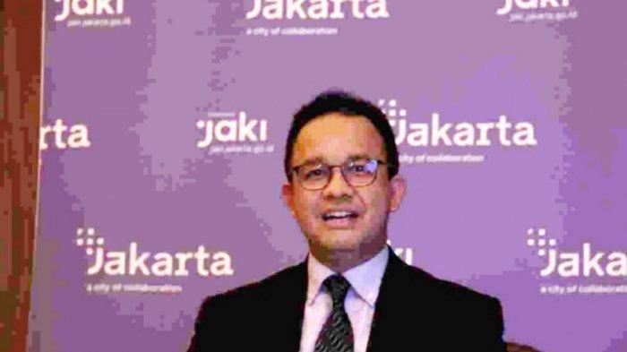 Gubernur DKI Jakarta Anies Baswedan saat menghadiri secara virtual acara U20 Mayor Summit 2021 bersama para pemimpin G20 pada Jumat (3/9/2021) malam lalu.